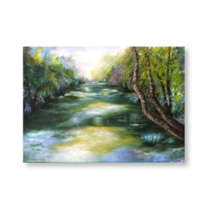 The Saigne (70x50) - Oil painted by Mary Made